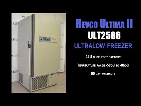Revco Ultima II ULT2586 Ultralow Freezer (2565G FREEZER)