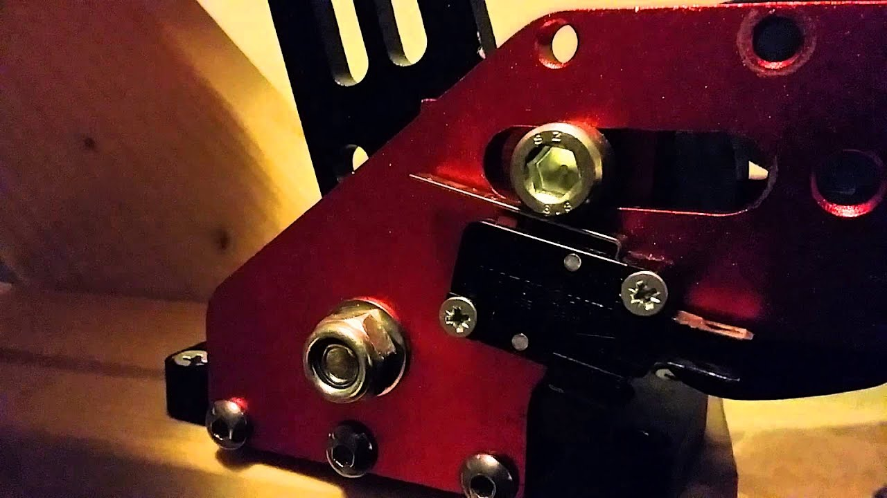 DIY Sim Racing handbrake, micro switch by Peter Punch