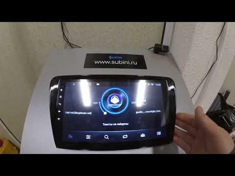 Штатные магнитолы Subini на Android. Обзор.