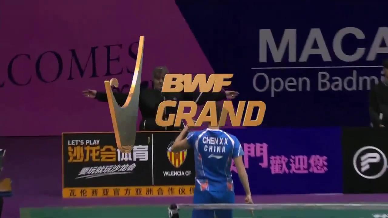 HD 2016 Macau Open SF WS CHEUNG Ngan Yi vs CHEN Xiaoxin
