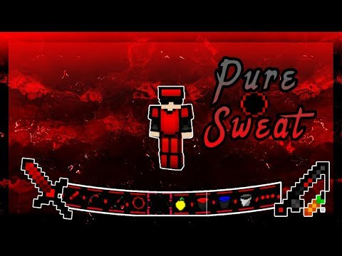 MY CUSTOM 3K MCPE PVP TEXTURE PACK!! | Pure Sweat ( 16x ) FPS+ / Low Fire | V1.7.0