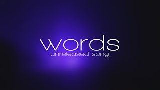 EDEN - words (new unreleased song) lyric video MP3