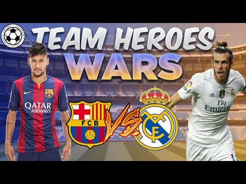 10 BARCELONA/REAL MADRID TEAM HEROES PACKS | FIFA MOBILE 17