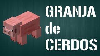 Granja Automática de Cerdos - Fábricas y Granjas Automáticas (Español) - Barcelona Minecraft thumbnail