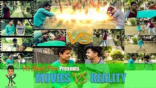 MOVIES VS REALITY || Funny Video || YK Shot Film production ||ft.Yogender kohli