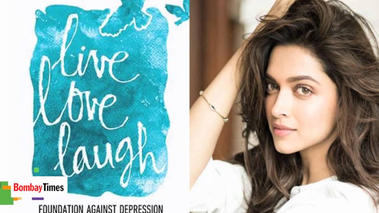 Live Love Laugh Deepika Padukone - Laugh Poster