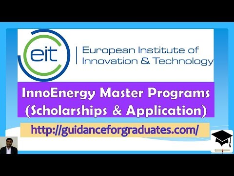 EU Scholarships for  EIT InnoEnergy Master Programs,  Study in Europe, Study in Germany