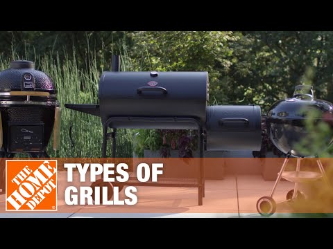 Types of Grills: Choosing What's Best for You | The Home Depot