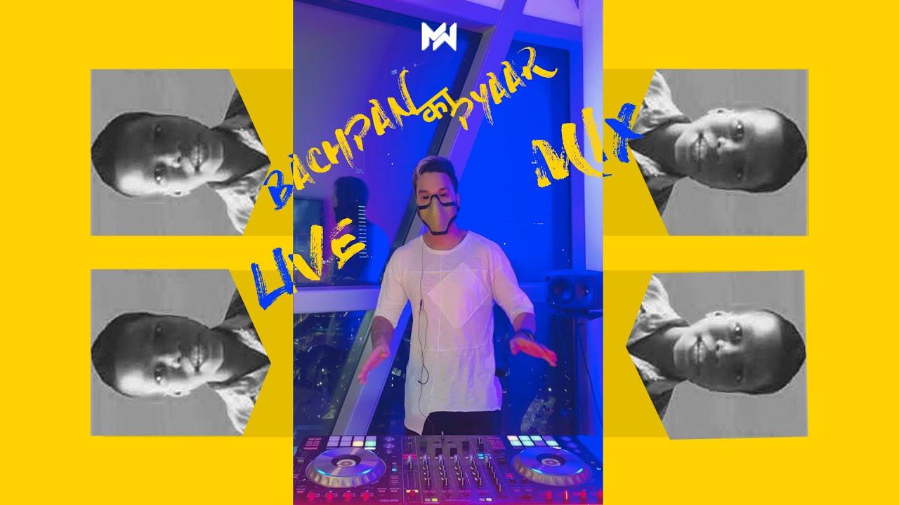 DJ EMWEE - Bachpan Ka Pyaar Live Mix   Bollywood Live Mix   Live Mashup