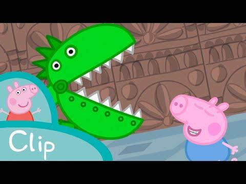 Peppa Pig - The dinosaur room (clip)