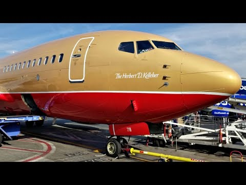 (15K Subscriber Special) Flight on Southwest's 'Classic Retro Livery' (BUR-SJC)