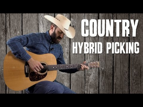 Makin' Your Rhythm Guitar Country with Hybrid Picking - Beginner Guitar Lesson