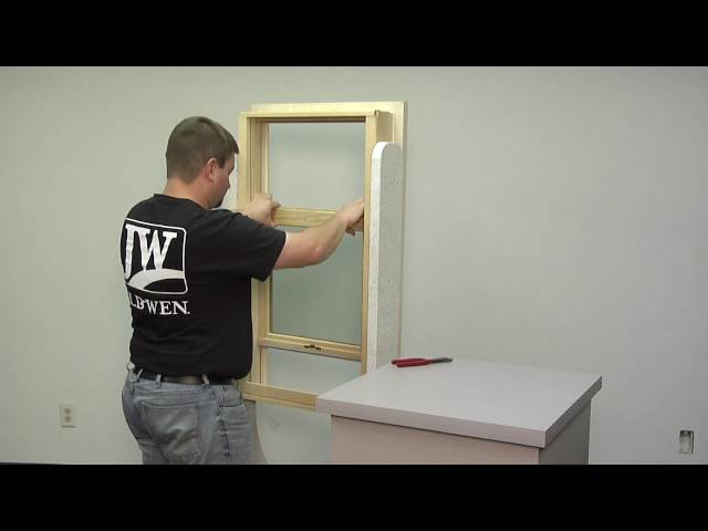 How To Replace the Weatherstrip on a Siteline Wood Double Hung Window