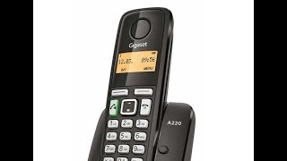 gigaset A220A Digital Cordless Telephone Review By Telephones Online