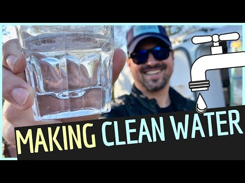 Can We Make CLEAN WATER in a VINTAGE RV? 🚰Water Filter for RV Living