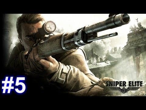 Sniper Elite V2 Walkthrough HD - Mission 4 - Opernplatz