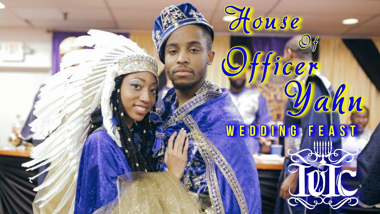 The Israelites House Of Officer Yahn Wedding Feast Youtube,Boat Neck Sleeveless Wedding Dress