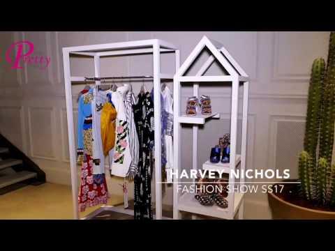 Sarah Abdallah Harvey Nichols Fashion Show SS17