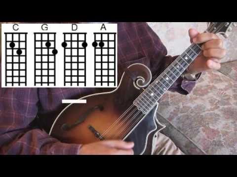 Easy Mandolin Chords Rudolph The Red Nosed Reindeer Roland White