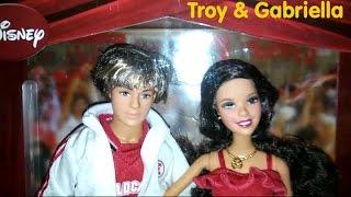 Barbie Gabriella & Troy HSM Singing Dolls