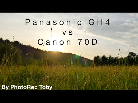 Panasonic GH4 vs Canon 70D