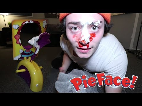 Do Not Play Pie Face at 3AM! (GONE WRONG)