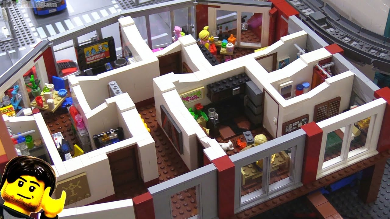 LEGO apartment MOC building progress part 6