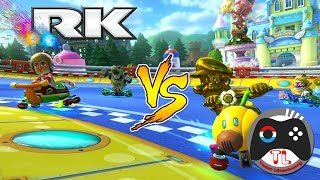 MARIO KART 8 DELUXE COMPETITIVO: RK vs LT | CLAN WAR 5vs5 | Nintendo Switch
