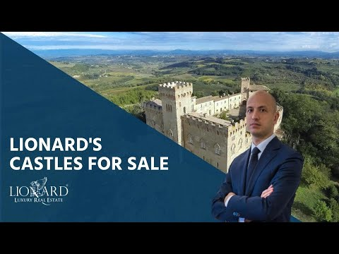 Italian people are selling their family castles (Russian TV service)