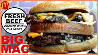 McDonald's® | Fresh Beef Half Pound BIG MAC™ Review! 🐄🍔🍔