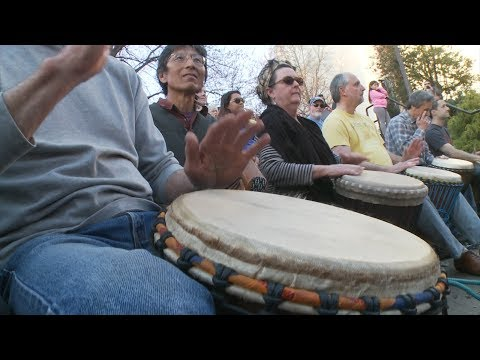 The Asheville Drum Circle and Asheville Percussion Festival | NC Weekend | UNCTV