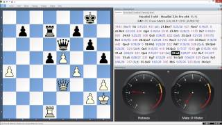 Houdini 3 x64 Vs. Houdini 2.0c Pro x64, LTC Chess Match Game 8
