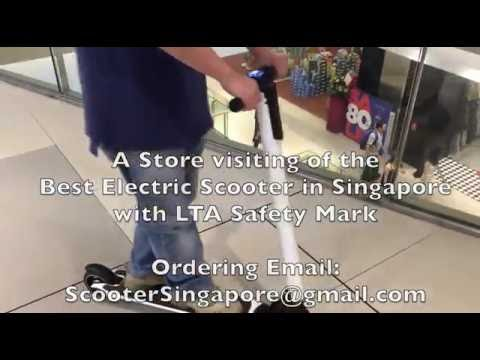 Singapore Best Selling E Scooters Review