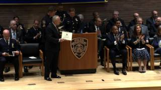 NYPD Promotions ceremony 1 Police plaza 11 24 15
