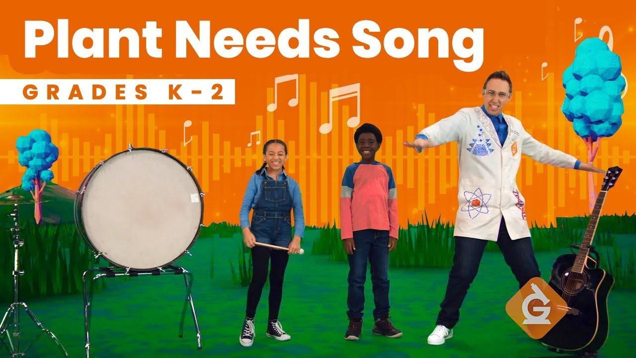 The Plant Needs SONG   Science for Kids   Grades K-2 - YouTube [ 720 x 1280 Pixel ]