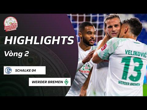 Highlights Schalke 04 - Werder Bremen | Chìm Sâu Khủng Hoảng | Vòng 2 Bundesliga 2020/21