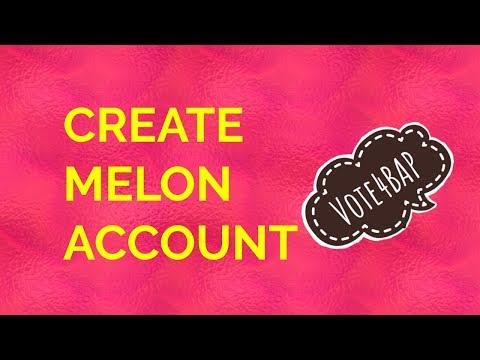 How to open a Melon account
