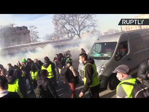 Yellow Vest protest in Paris: Week 14