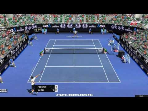 Tennis Elbow 2013 | Australian Open 2017 | Federer vs Nadal