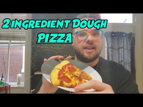 2-ingredient-dough-=-pizza!!!-||-weight-loss-journey-2019