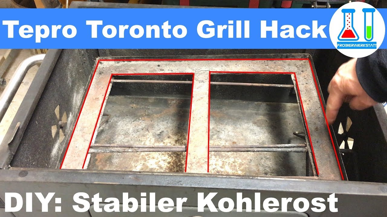 Tepro Toronto Holzkohlegrill Modell 2018 : Tepro toronto grill auch click? hack pimp my grill: problem mit