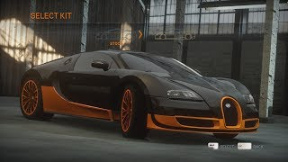 History of the Bugatti Veyron in Need for Speed
