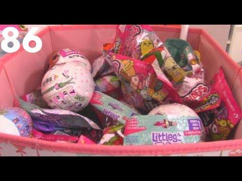 random-blind-bag-bin-86!-lol-glitter,-shopkins,-lego-batman,-and-poke-gashapon!-unboxing-toy-review