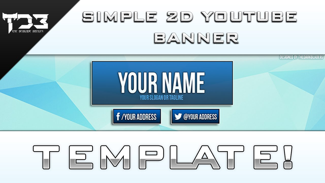 Excellent Youtube 2014 Banner Template Images - Entry Level Resume ...