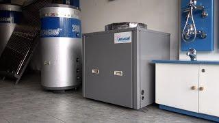 Bơm nhiệt - Máy nước nóng năng lượng không khí MEGASUN MGS-3HP