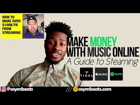 How To Make Money With Music Online - Guide to Streaming  | #OSYMTalks Mp3