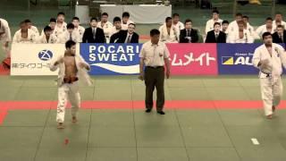 決勝 五将 穴井航史 VS 岩尾敬太 2011 全日本学生柔道優勝大会