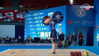 Тяжелая атлетика. Чемпионат Европы 2015 г. Женщины до 75 кг.