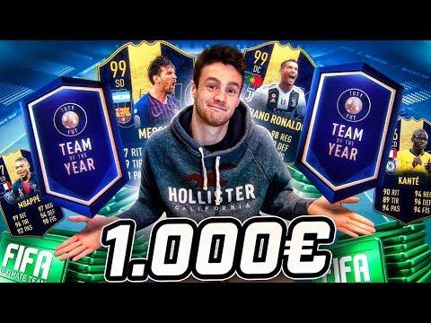 ME GASTO 1000€ EN LOS TOTY Y ESTO ES LO QUE ME TOCA!!