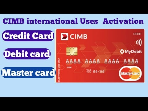 How to use cimb debit card online shopping